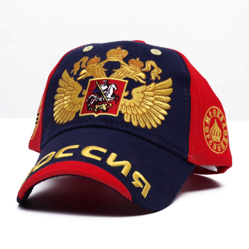 2018 new Russian double headed eagle   baseball     cap   Cotton Black fashion men   caps   peaked   cap   snapback hats 11 style