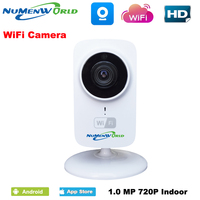 Mini IR Inddor Wifi IP Camera Night Vision Home Security Baby Camera Wireless 32G Micro SD