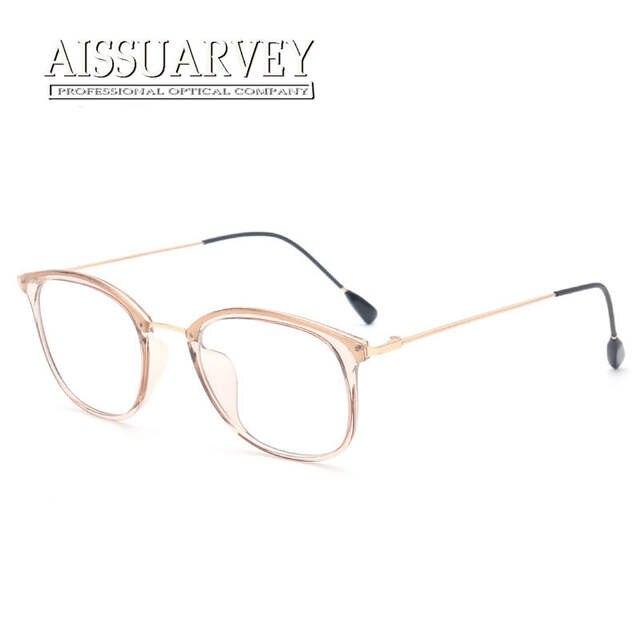ef0749e26fb Online Shop Special Light Eyeglasses Frame Men Women Vintage Simple Grey  Pink Optical Glasses Brand Designer Prescription Clear Transparent