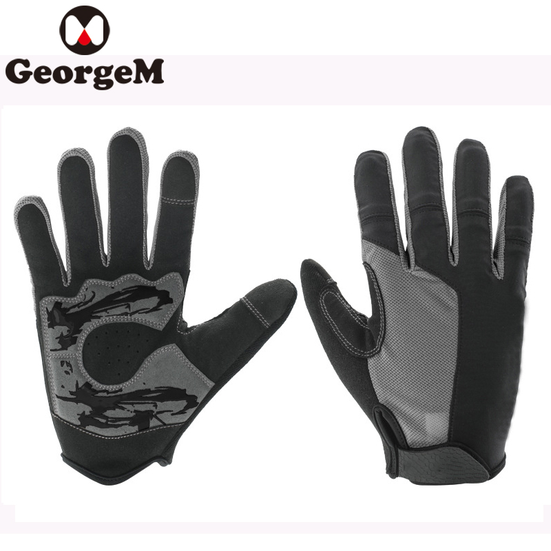 Bicycle Riding Gloves Long Finger Cycling Glove Summer Autumn Men Women Sun Mittens MTB Road Bike Full Finger Bicycle Gloves