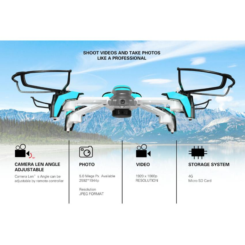 Kai Deng K80 With 2MP WIFI Camera Headless Mode RC Quadcopter RTF Headless Drone Mini Drone with camera