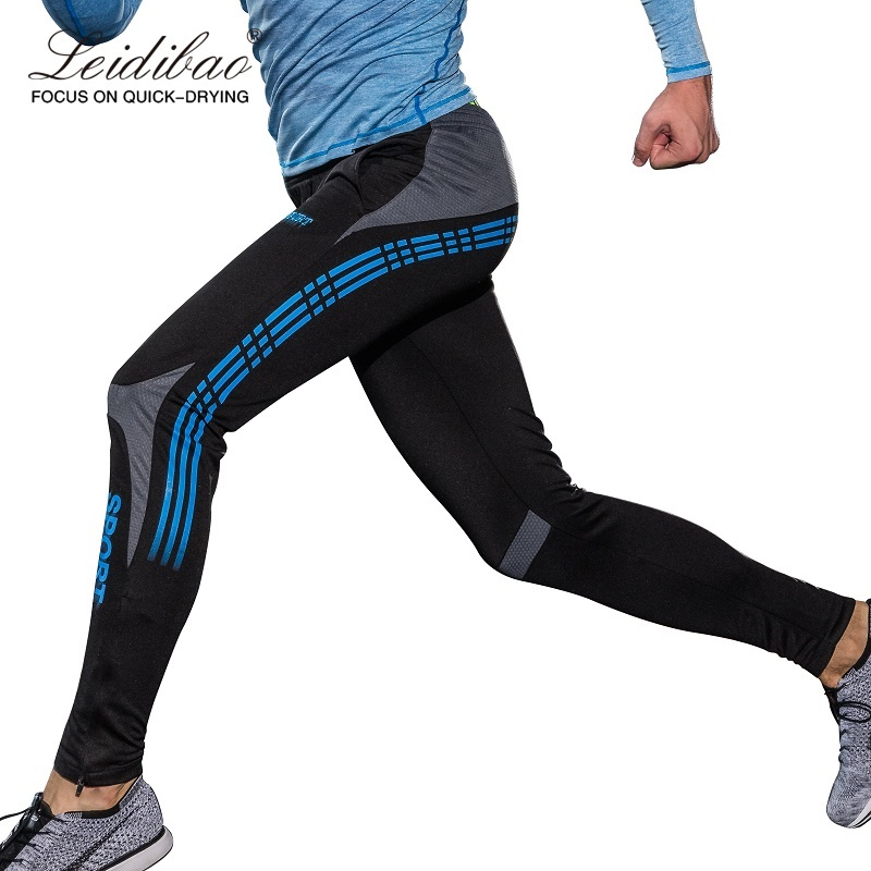 2018 New Men running Pants training Compress Gym Leggings Men Fitness Workout Altumn Sporting Fitness Male Breathable Long Pants lovely usb humidifier whale floating mini spray touch switch segmented time small and portable mute spray can be put in the cup