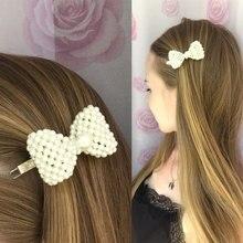 Fashion Korean Design Pearl Hairpin Headdress Jewelry Hair Accessories Stick Sweet Hairdressing Clip