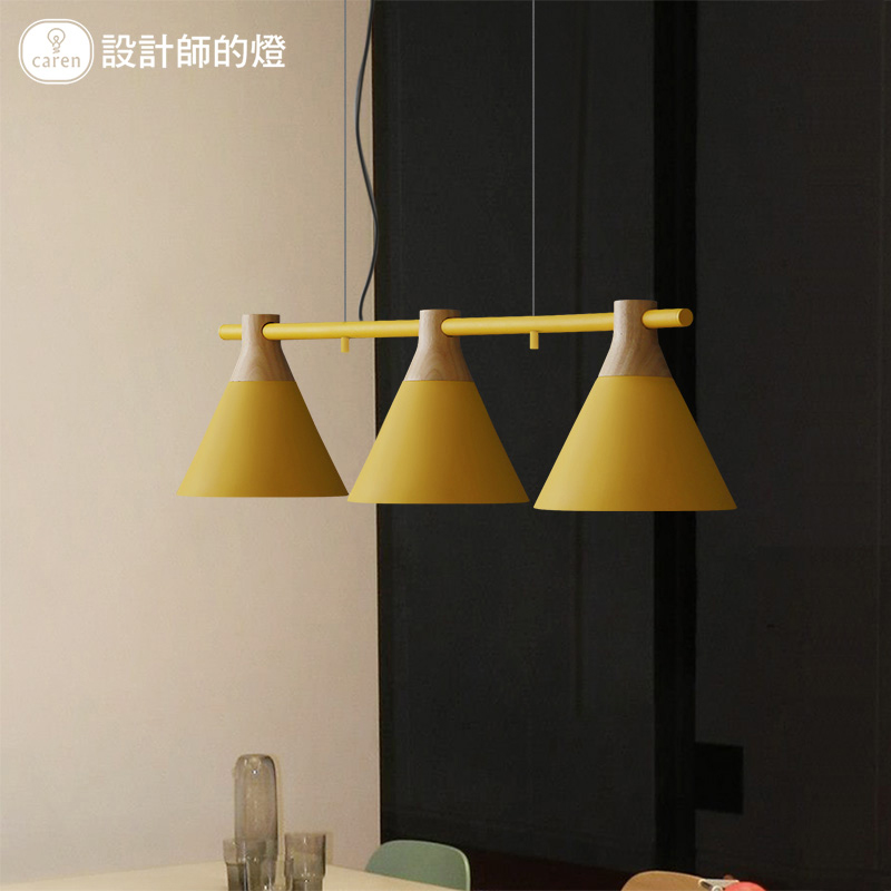 3 heads Modern Nordic Pendant Lights For Dining Kitchen Lampadario LED Colorful Hanging Lamp Indoor Luminaria Light Fixtures