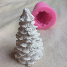 Tree candle silica gel mould Pine aromatherapy gypsum Craft Soap 3D Candle making silicone mold
