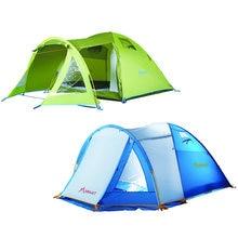 На Открытом Воздухе Палатка Водонепроницаемый Кемпинг Пляж Палатка Большой Поп-Палатку Альпинизм Пешие Прогулки Семья 1 Спальня 1 Гостиная