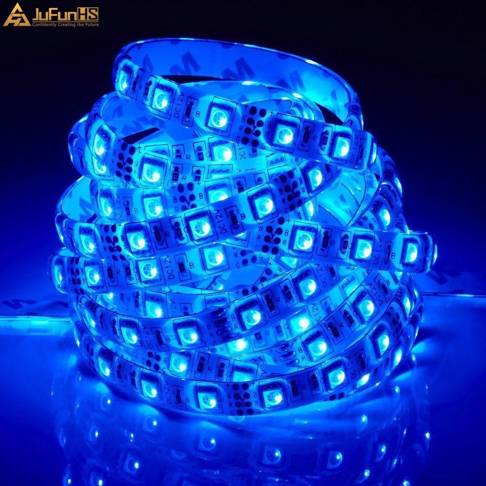 5M 300 LED fleksibilna traka za svjetla 5050 SMD 12V vodootporna - Svjetla automobila - Foto 3