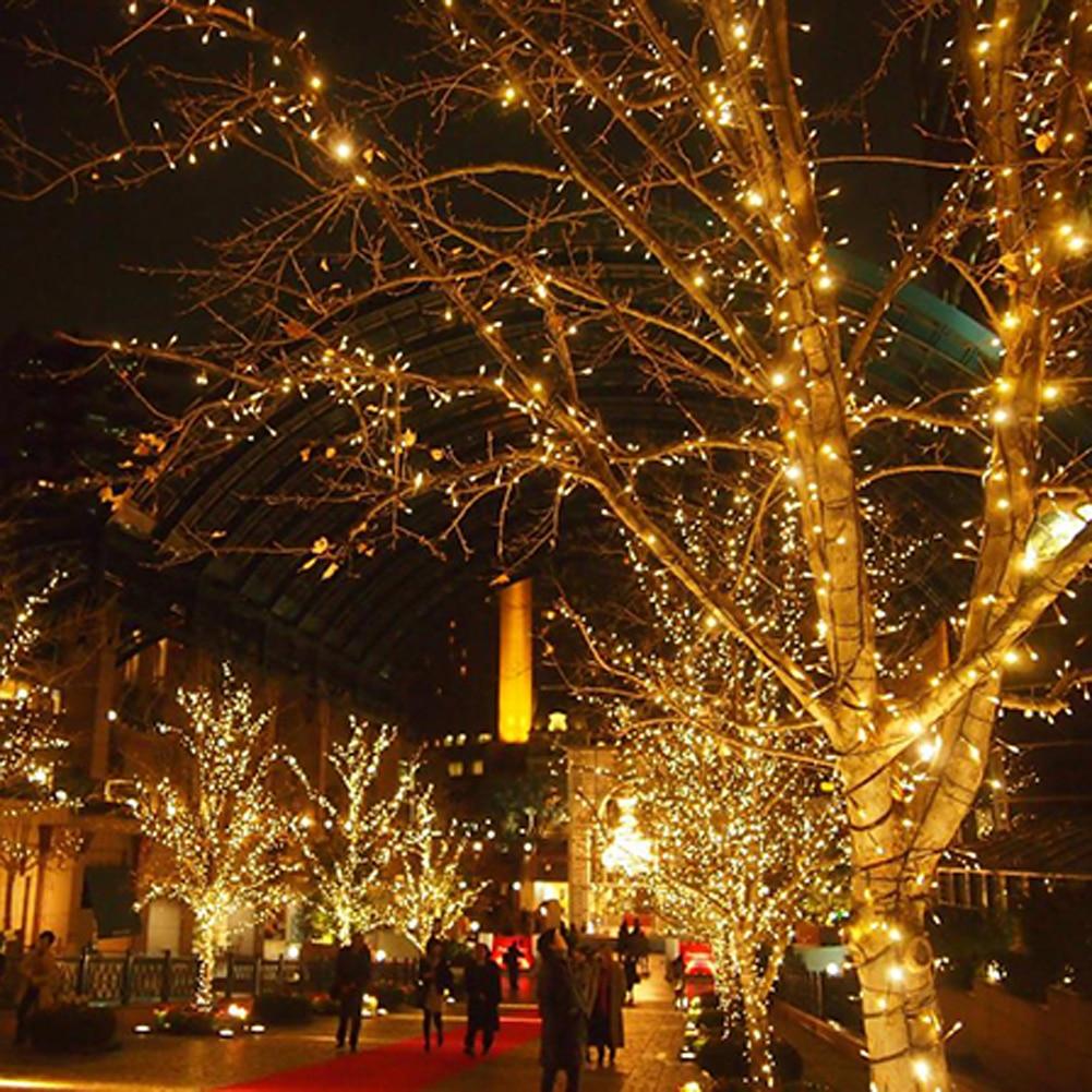 led string lights 5m 33ft 50led 5v usb powered outdoor copper wire sgg - Usb Powered Christmas Lights