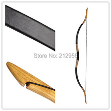 Handmade Horse Bow Archery Traditional Bow 20-60lbs Nice Leather Recurve longbow+String H1P