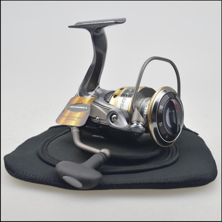 2017 new Ecooda havok spinning fishing reel HAS II 2500 3000 3500 4000 4500 5000 new yumoshi fishing reel 9 1bb spinning reel boat rock fishing wheel 4000 9000 series reel