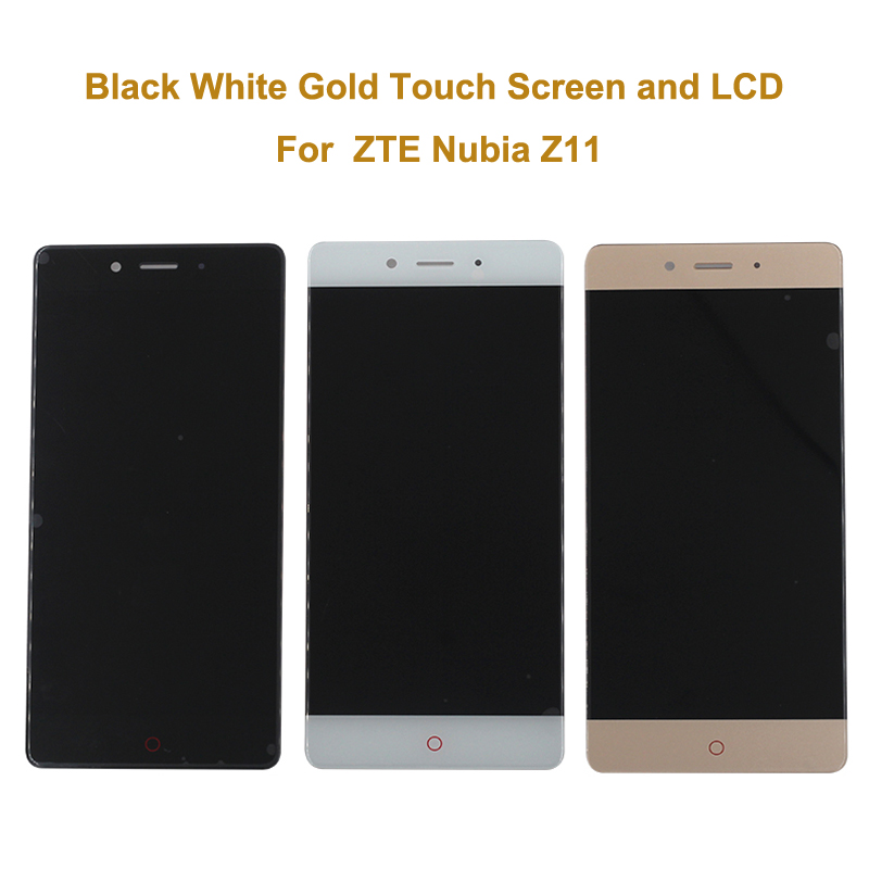 5.5 inch Brand New Original For ZTE Nubia Z11 Nx531J LCD Screen Display +Touch Screen Digitizer Assembly Replacement For ZTE Z11
