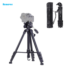 High quality Lightweight Protable Camera Tripod with 360 degree rotation ball head for Cameras DSLR SONY CANON NIKON