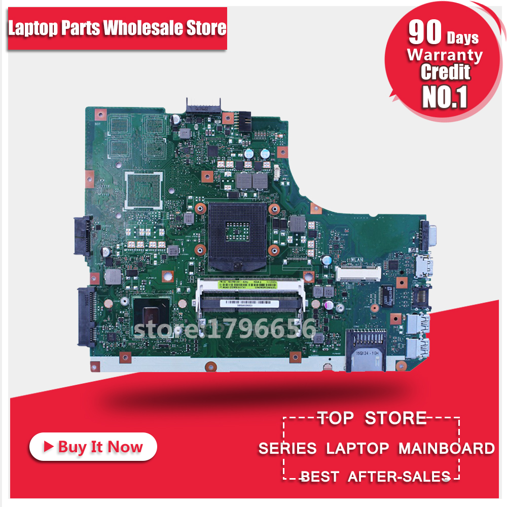 K55VD REV: 3.0 Laptop motherboard For ASUS K55VD K55A,60-N89MB1301-A04 Integrated Graphics,2 DDR3 100% tested free shipping