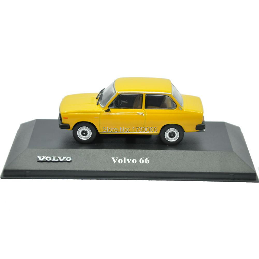 Atlas 1 43 Volvo 66 DL models car Collection Diecast Toy Vehicles Contemporary Manufacture yellow