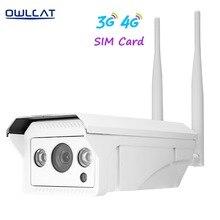 Owlcat Onvif 2,1 HD 960 P 1080 P ip-kamera drahtlose wifi außen H.264 Wasserdichte Cctv Kamera 3G 4G SIM Karte ip-kamera