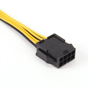 Image 3 - 19cm 8 핀 8 핀 ATX EPS 남성 여성 전원 확장 PSU 메인 보드 전원 확장 어댑터 케이블
