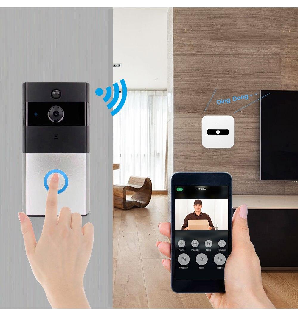 Smart Video Doorbell Camera (5)