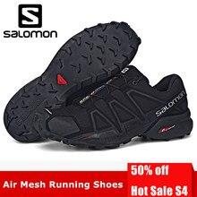 71644d4111 2018 Original Salomon Shoes zapatos hombre homens Velocidade Cruz 4 CS  Homens Speedcross III Tênis correndo Sapatos de Desporto .