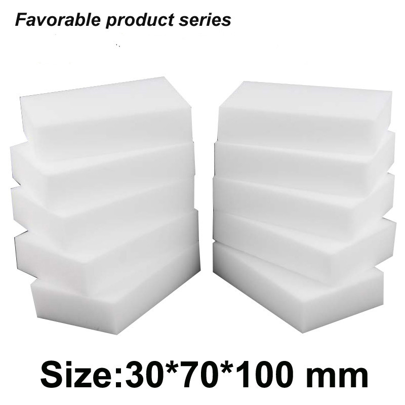 30*70*100mm,melamine sponge 200 pcs Factory sale!High density miracle melamine dish cleaning sponge eraser white magic eraser-34