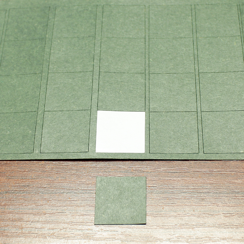 Купить с кэшбэком 100pcs/lot Lithium battery pack square insulation pad 14500 square solid insulation piece meson package barley paper gasket