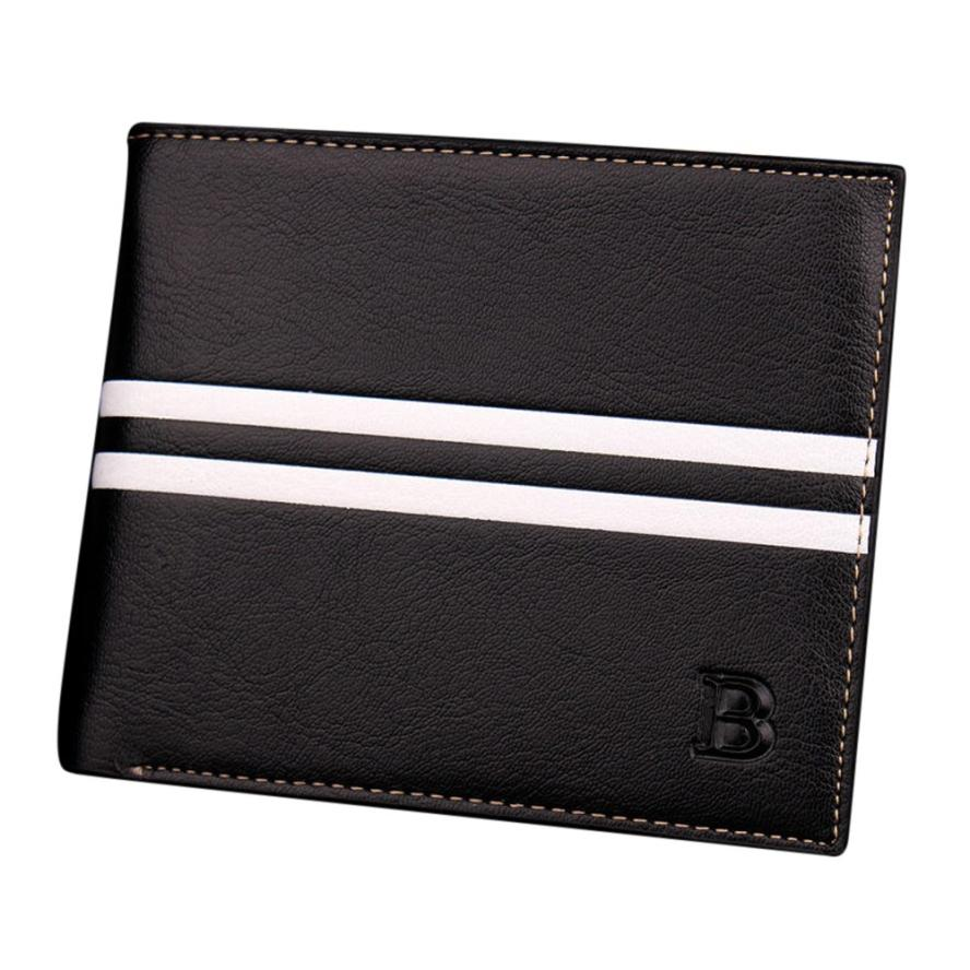 Famous Brand Men's Leather Wallet Male Retro ID Card Holder Short Cloth Men Casual Bifold Coin Purse Wallets Carteira #YL free shipping 304 stainless steel car window chrome trim decoration car styling for ford edge 2011 2012 2013 2014 page 3