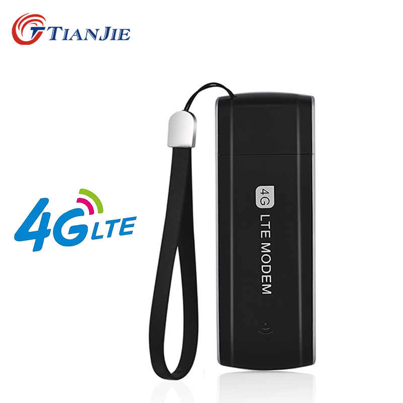 TIANJIE Unlocked 3G 4G USB modem GSM WCDMA UMTS LTE FDD TDD usb dongle network stick sim card usb network key