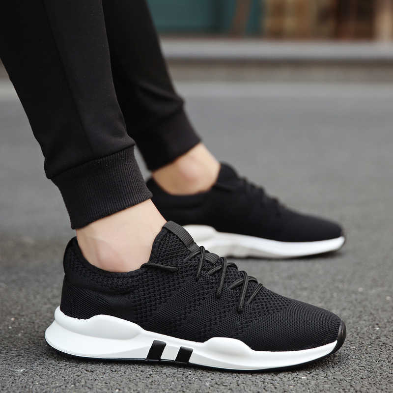 368b0bebeed30 GNOME Modis Black White Gray Vulcanized Shoes Men Tenis Designer Sneakers  Men Shoes Lightweight Breathable Male
