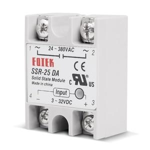 Image 3 - 10 pçs/lote 25A DC para AC Relé de Estado Sólido SSR SSR 25DA 3 32V DC