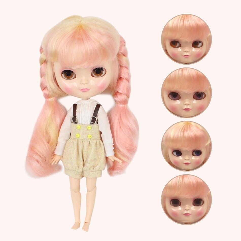 ฟอร์จูนวันICYตุ๊กตา1/6 azoneร่างกายหน้าอกขนาดเล็กสีบลอนด์ผสมสีชมพูผมเสื้อผ้ารองเท้ายืนมือของเล่นของขวัญBL313/1010-ใน ตุ๊กตา จาก ของเล่นและงานอดิเรก บน   3
