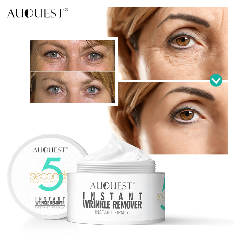 AuQuest 5 Seconds Wrinkle Remover Instant Firmly Anti Aging Moisturizing Remove Fineline Face Cream Beauty Skin Care 20G-1