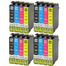 16X  16XL T1631BK C M Y cartuchos de tinta para Workforce WF-2520NF WF-2630WF WF-2750DWF WF-2650DWF WF-2660DWF