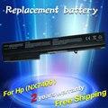 Jigu 8 celdas de batería portátil para hp compaq nc8430 nw8200 nw8240 nw8440 nw9440 nx7300 nx7400 nx8200 nx8220 nx8420 nx9420 14.8 v