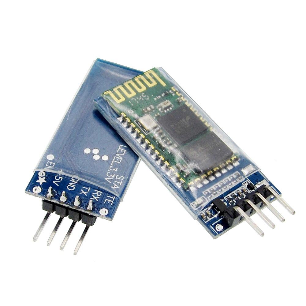 50pcs/lot HC-06 Bluetooth serial pass-through module wireless serial communication from machine Wireless HC06 Bluetooth Module