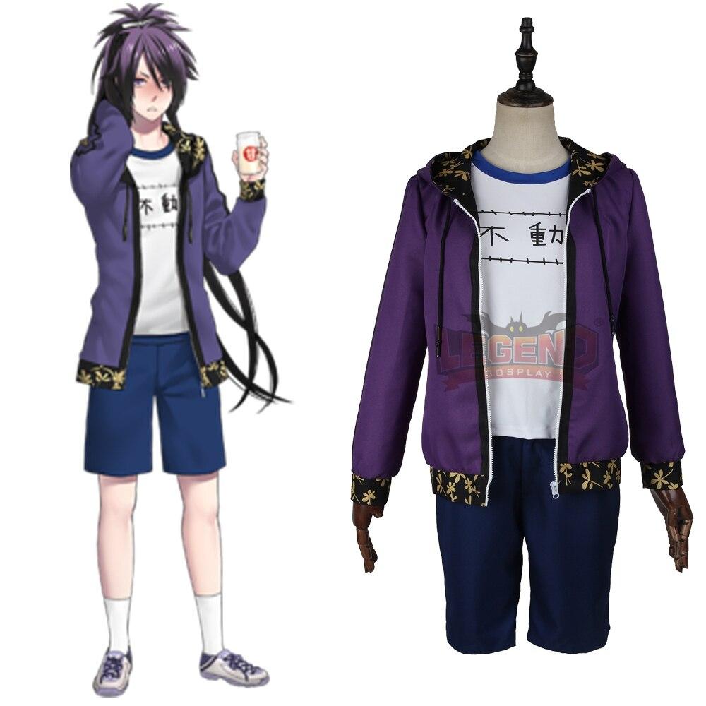 Cosplay legend Touken Ranbu Online Fudou Yukimitsu Cosplay adult casual wear costume full set custom made