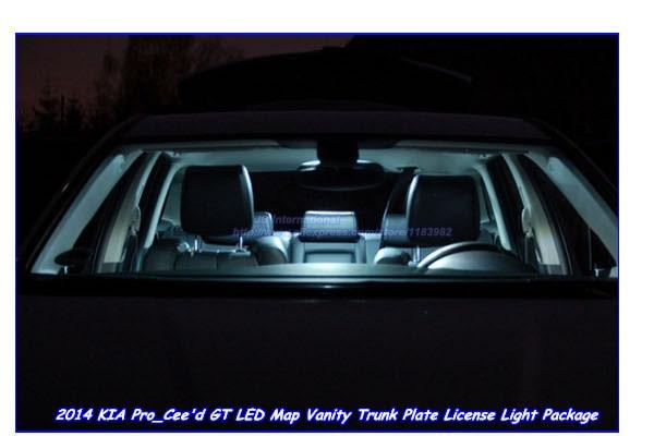 Aliexpresscom Buy Pcs Car LED Light Bulbs For KIA Pro CEED GT - Us marine map reading kia