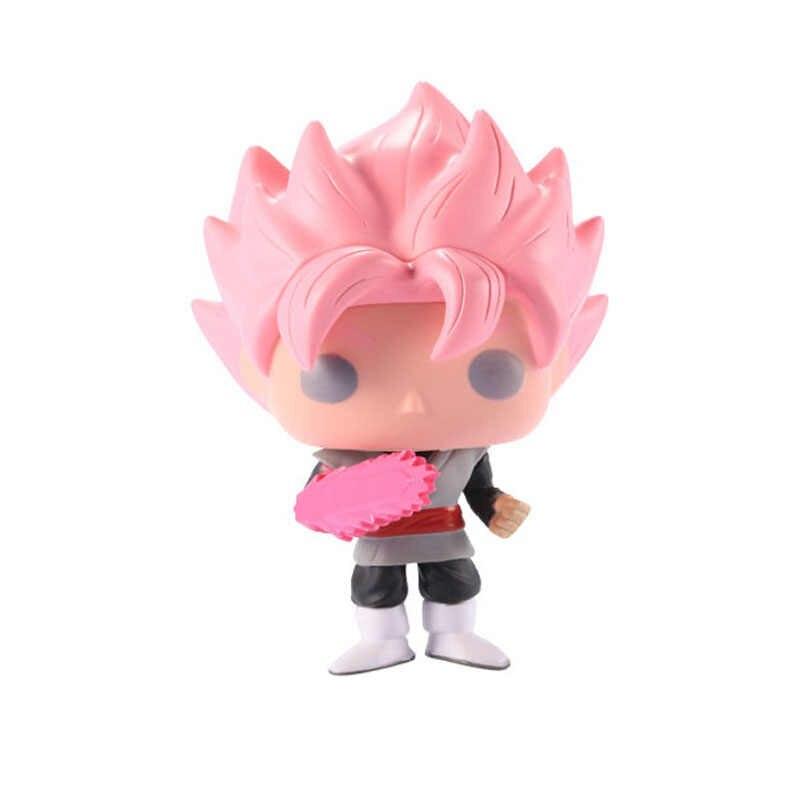 Funko pop Japonês Amine SUBIU GOKU De Dragon Ball SUPER SAIYAN PVC Action Figure Collectible Modelo Brinquedos para Crianças presente de Aniversário