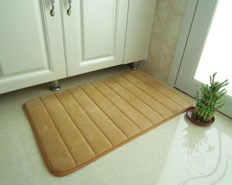 40*60CM memory foam mini bath mat for children anti slip kids area ...