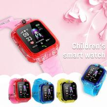 Smart Watch For Kids With SIM Card And GPS 2019 New S12 Smart Clock Watch IP67 Waterproof Touch Screen Phone Watch For Android interpad gps bluetoot smart watch for kids boy girl apple android phone support sim card smart baby watch for children clock