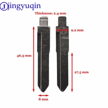 jingyuqin 1p Car Replacement Remote Blank Flid Folding Key Blank For Suzuki Swift Replacement Uncut Blade