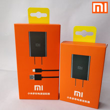 Original xiaomi redmi 4x Charger For redmi 1s 2s 3s Note 2 3 4 MI 1 2 3 4 EU/US 5V 2A Usb wall Adapter charger &Data cable