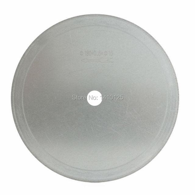 "7"" inch Super-Thin Arbor Hole 16mm 5/8"" Rim 0.65mm Diamond Saw Blades Lapidary Cutting Disc Jewelry Tools for Stone Gemstone"