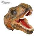 Tyrannosaurus Rex Puppet Dinosaur Model Hand Puppet Small Figure Toys Plastic dinosaur model Interactive Toys for Children Gifts