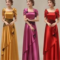 summer dress 2017 Custom wholesale vintage elegant dress A line dress Slim Solid 6XL 7XL Plus Size Women Party Bride Dresses