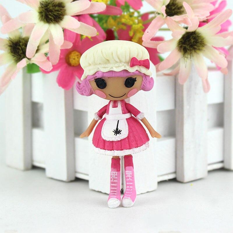 1 шт. 3 дюйма Оригинал MGA Lalaloopsy Мини-куклы, куклы для девочки игрушка Playhouse каждой уникальной ...