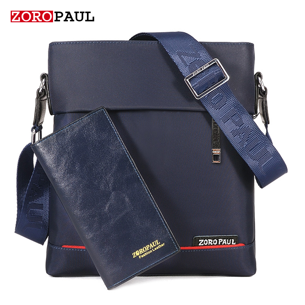 ZOROPAUL Casual Men Bag Luxury Brand Set Oxford Designer Handbags Men's Messenger Bags Male Crossbody Fashion Man Shoulder Bags augur casual men messenger bags high quality oxford waterproof man shoulder bag luxury brand crossbody bags designer handbags
