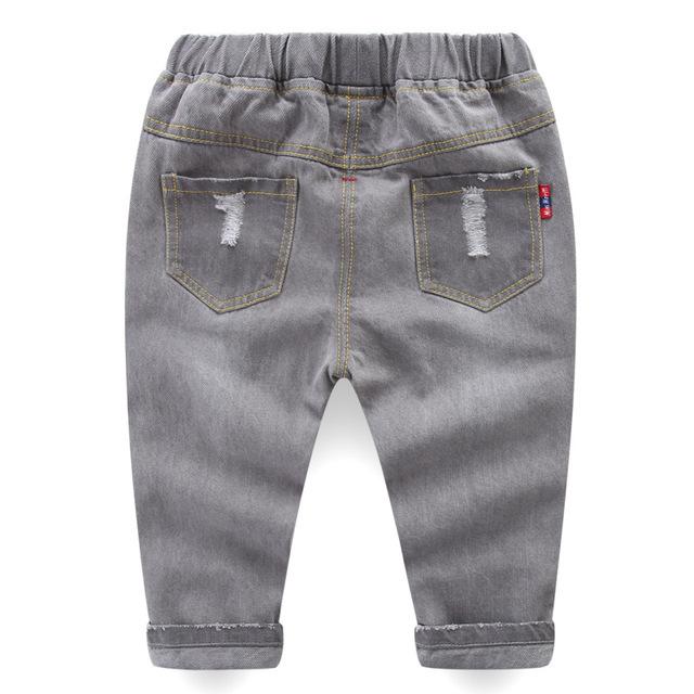 Spring Girls Jeans Baby Kids Jeans for Children Boys Girls Hole Denim Pants Toddler Pants Girls Kids Pants for Boy Girl 1-5Y
