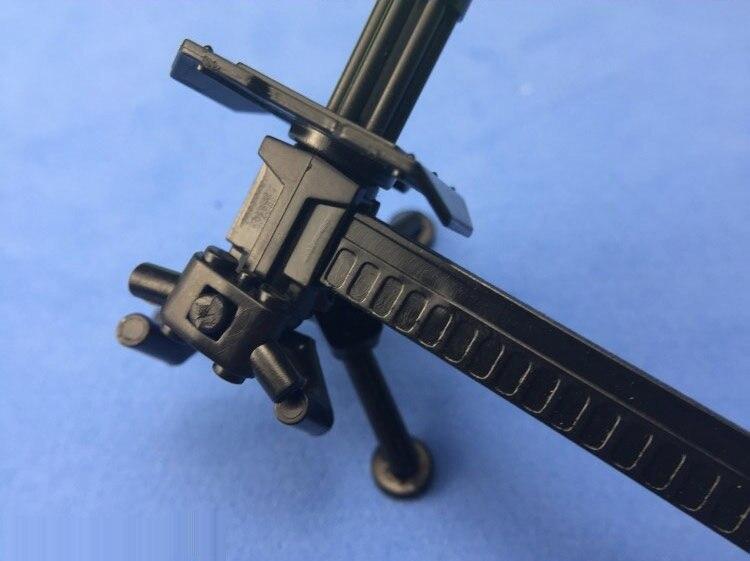 ГБЛ и Гатлинга пулеметы военное оружие город кирпичи строительный блок оригинальные игрушки для детей ...