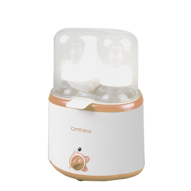 Multifunción Smart Baby Bottle Warmer Leche Termostato Calefacción Leche Botella Esterilizador Calentador Desinfección de Alimentos de Huevo Vapor de calefacción