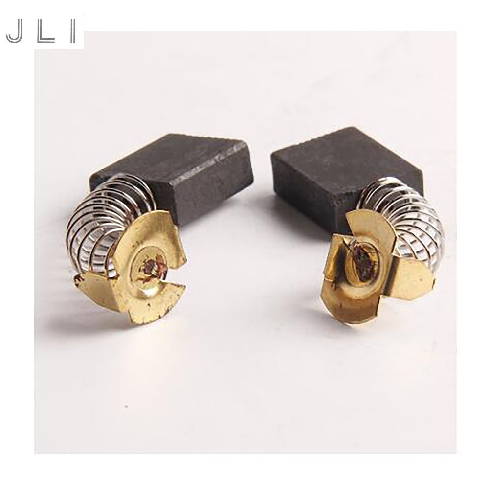 JLI 20ピース6.5 * 13.5 * 16.3 mm CB-153 9インチ電動丸鋸用CB-153カーボンブラシ、355スチールマシン電動工具アクセサリー