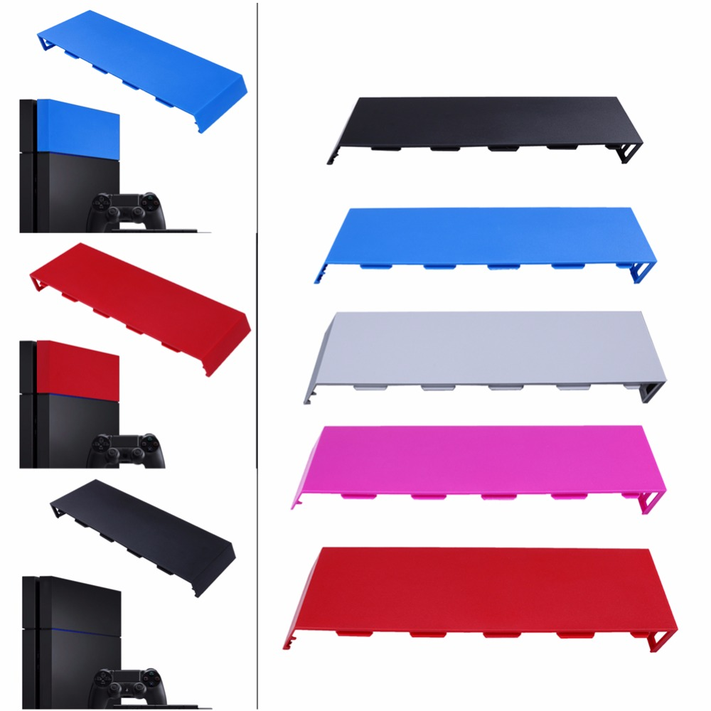 2016 New HDD Bay Cover Hard Disc Drive Cover Case faceplate for Sony for Playstation 4 PS4 Host Console Matt 5 colors